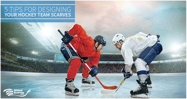 Get Inspired This Season – 5 Tips for Stunning Hockey Team Scarves