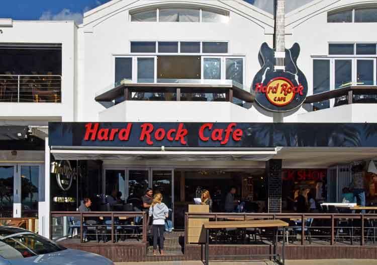 Hard Rock Cafe Parking Garage