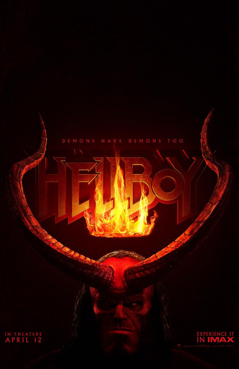 hellboy 2019 film poster