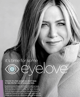 Jennifer Aniston partners with Shrine Initiative to bring us EyeLove. Details at JasonSantoro.com