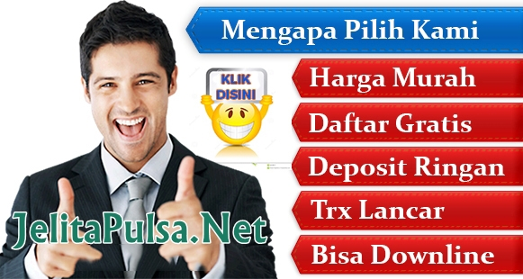 jelitapulsa.net Adalah Web Resmi Server Jelita Reload Pulsa | CV Cahaya Multi Solution