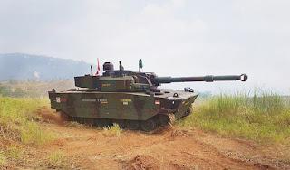 Medium Tank Harimau Pindad