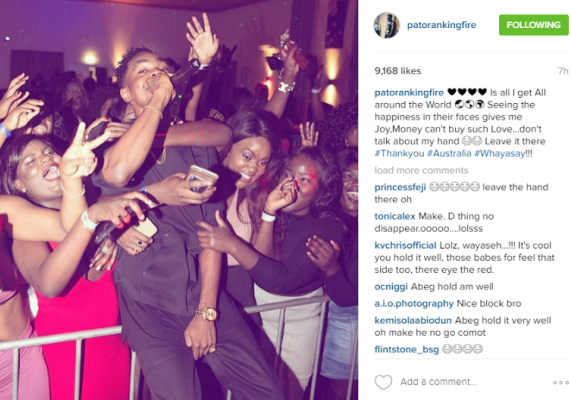 1 Patoranking shares photo on Instagram, See fans reaction