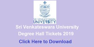 Manabadi SVU Degree Hall Tickets 2019 Download