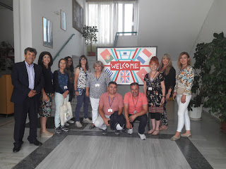 Το 7ο Γυμνάσιο φιλοξένησε Διακρατική Συνάντηση Erasmus+