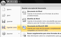 Documento de Word 97 – 2003