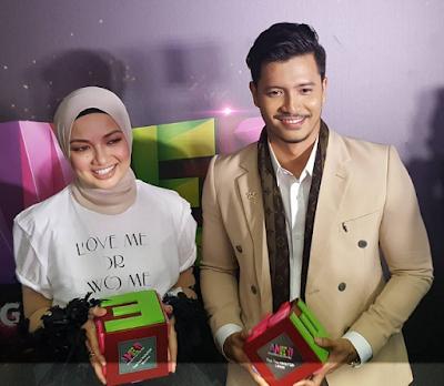 Neelofa & Fattah Amin Menang Besar di Anugerah Meletop Era 2017 (AME2017), Lofattah, Lofatah, Hero & Heroin Suri Hati Mr Pilot,