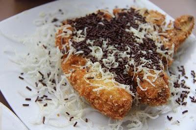 Resep Pisang Goreng Coklat Keju Crispy