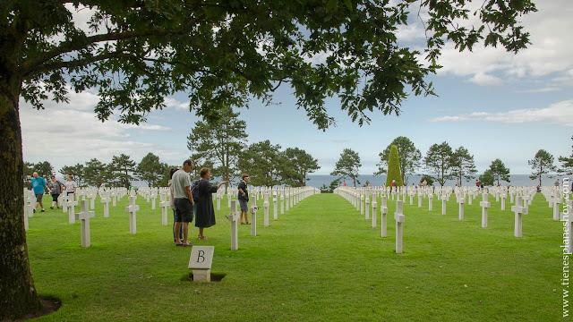 Cementerio Americano viaje Guerra Mundia Desembarco que ver turismo