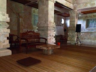 the hall of the brahmavihara arama monastery