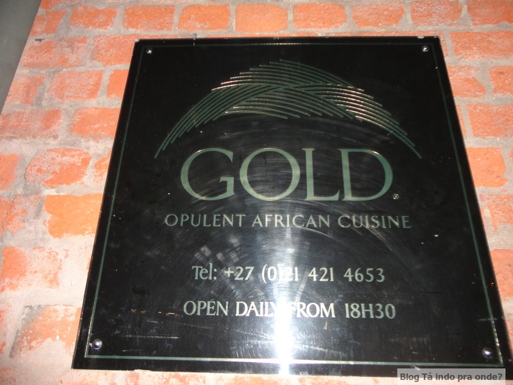 Gold Restaurant, Cidade do Cabo