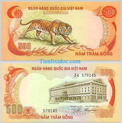 500 đồng việt nam cộng hòa 1972