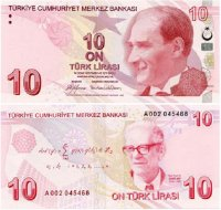 Turkish 10 Lira