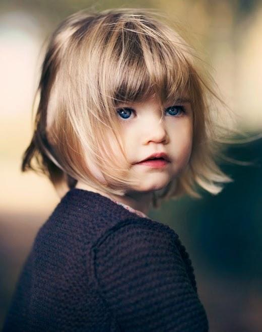 Gratis gambar anak berambut pirang online