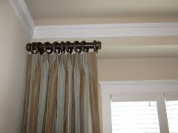 arched curtain rod home depot