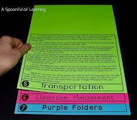 FOLDABLE PARENT HANDBOOK FLIPBOOK 3