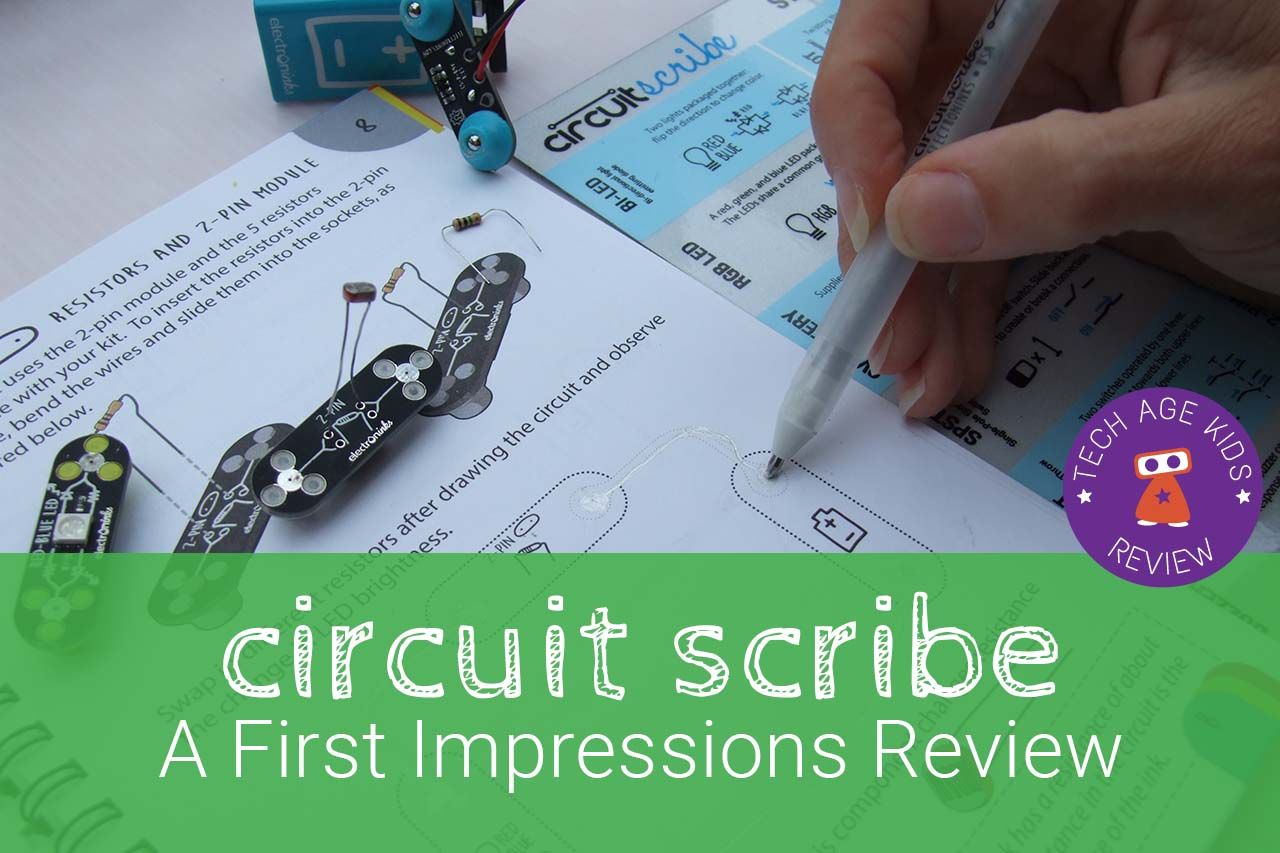 Electroninks Circuit Scribe Review Snap