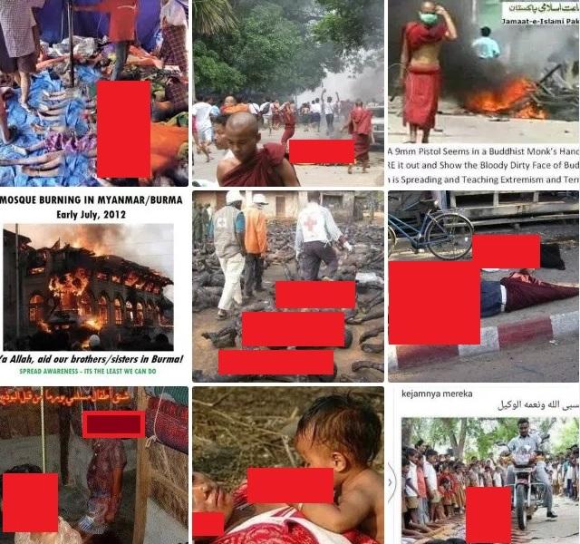 8 Alasan Muslim Myanmar Dibantai + 15 Foto Pembantaian Rohingya