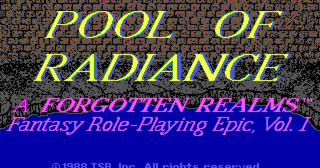 Indie Retro News: Pool of Radiance Translation/Code Wheel Updated +