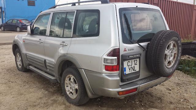 Vanzare-Mitsubishi-Pajero-inmatriculat