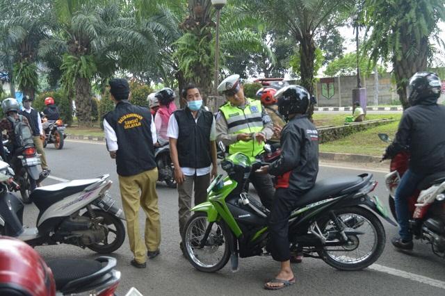 Samsat Balaraja Gelar Razia Pajak Kendaraan