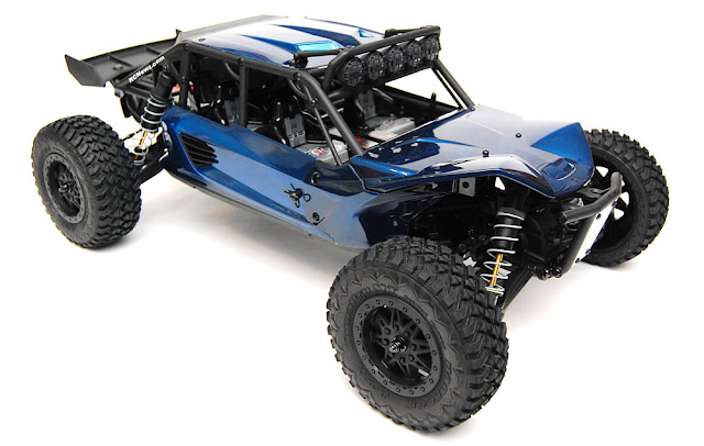Axial Exo Terra blue paint job