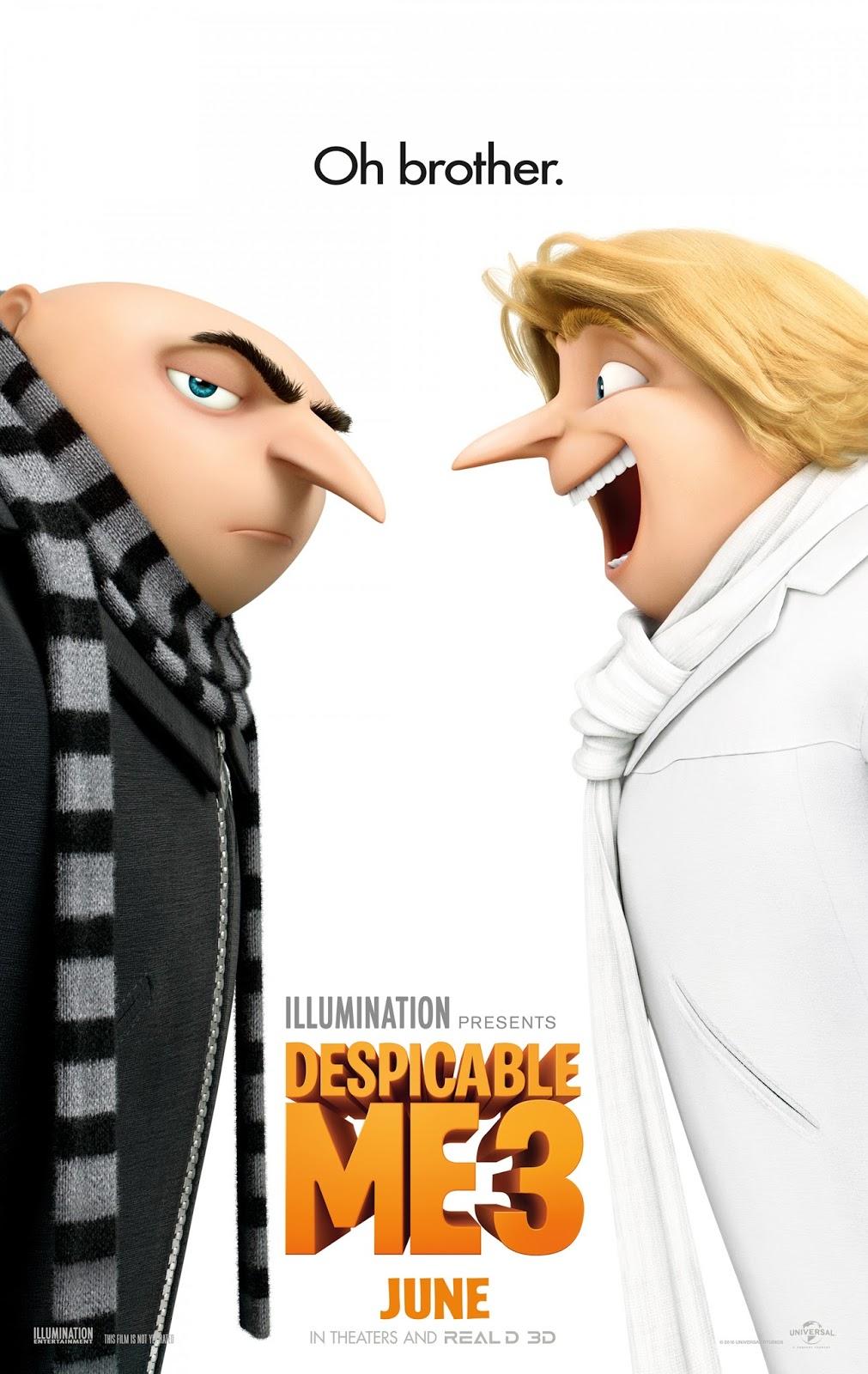 ตัวอย่างหนังใหม่ - Despicable Me 3 (มิสเตอร์แสบ ร้ายเกินพิกัด 3) ซับไทย  poster