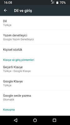 google klavye indir.