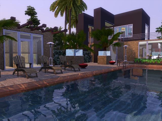Villa sims 3 design a télécharger