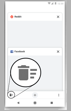Google Chrome Prepare for New All Tabs closing Quick Button [APK to Download]