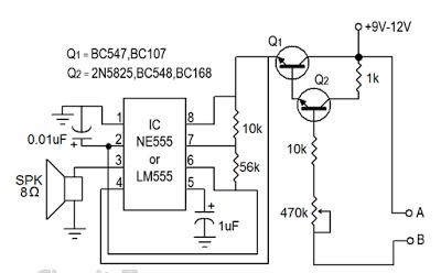 Water Sensor Circuit Diagram ~ Textile Education Tips