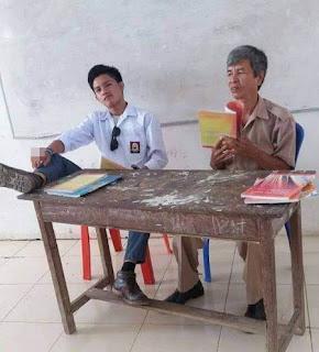 siswa SMA Yang berlaku tak sopan terhadap Guru Menuai Kecaman dan Hujatan dari Natizen - Commando