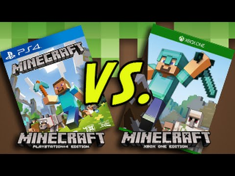minecraft world minecraft ps4 vs xbox one. Black Bedroom Furniture Sets. Home Design Ideas