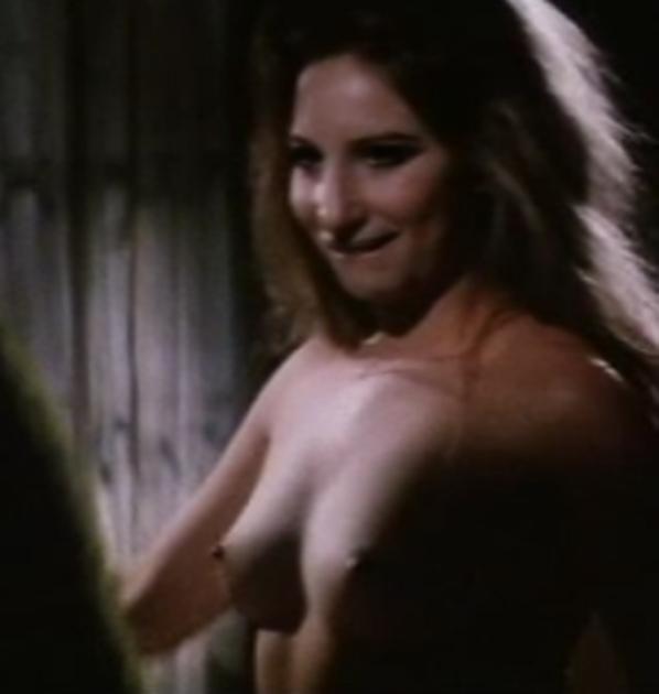 Barbra streisand topless