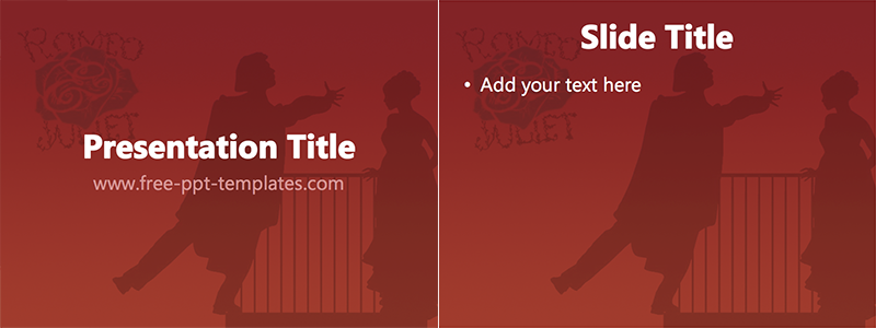 Free powerpoint templates education free powerpoint for Romeo and juliet powerpoint template