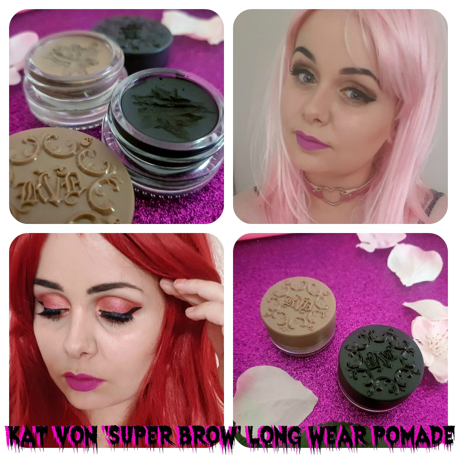 Kat Von D 'Super Brow' 24 Hour Long-Wear Pomade - Review