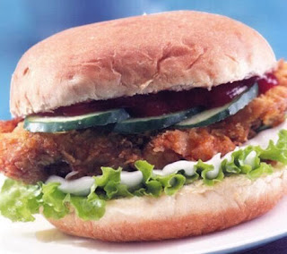 Corn Flakes Chicken Burger Recipe