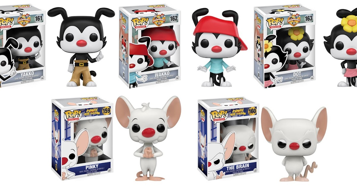 Collecting Toyz: Funko Announces Animaniacs, Pinky & The Brain POP! Vinyl  Figures