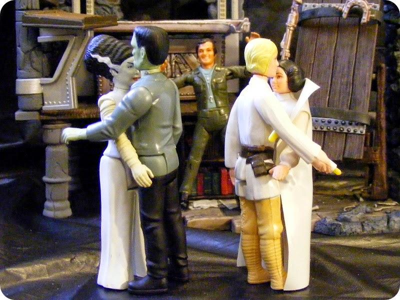 """""""Gosh, I can't wait 'til we tell Ben Kenobi!"""""""