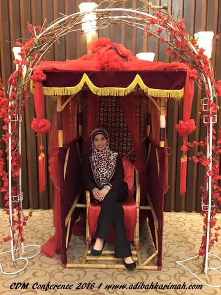 Adibah Karimah in action at Grand Lexis
