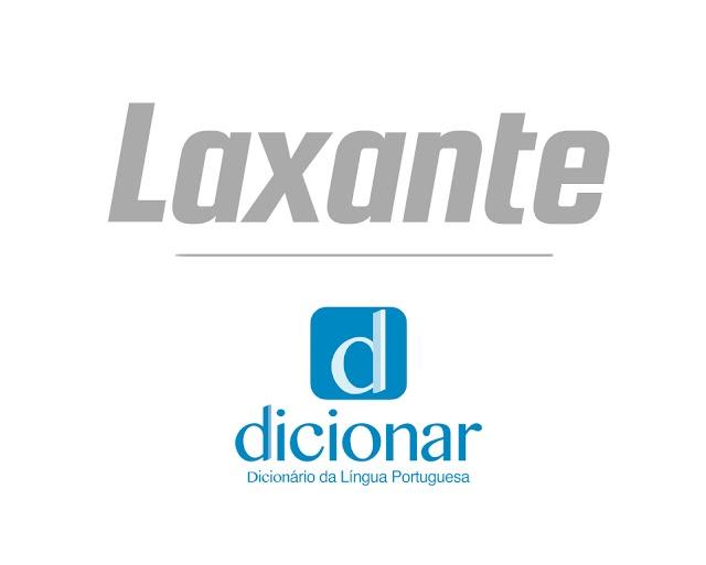 Significado de Laxante