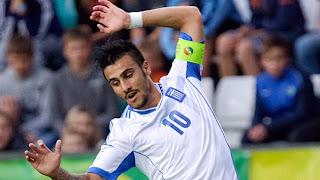 Katridis, capitán de la selección griega sub 19