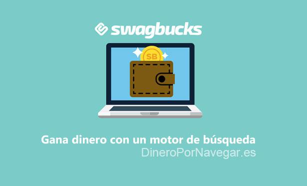 Swagbucks - gana dinero con un motor de búsqueda
