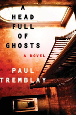 A Head Full of Ghosts by Paul Tremblay is an adult fiction book in the horror, dark fiction, prychological thriller, and it gets 4.5 out of 5 stars in my book review.  Alohamora Open a Book http://alohamoraopenabook.blogspot.com/ scary, fast read, festive, Halloween book