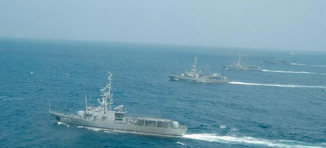 Armada y mar territorial
