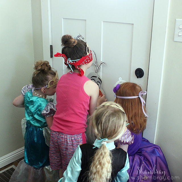 Princess Birthday Party-Games, Frozen