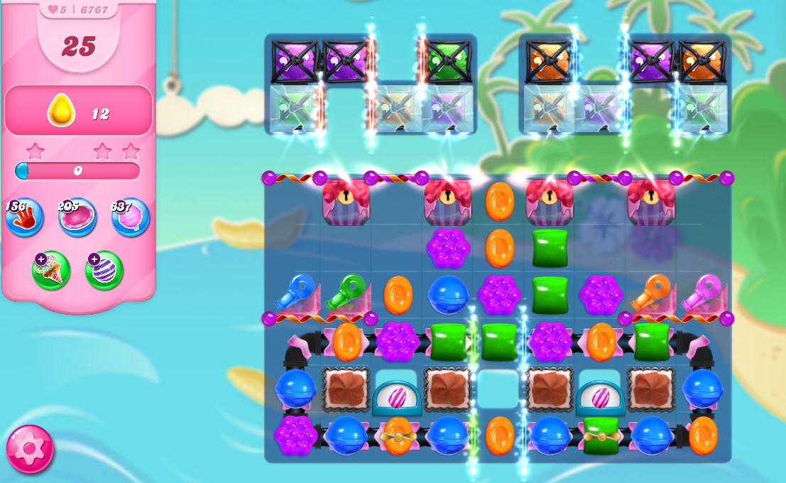 Candy Crush Saga level 6767