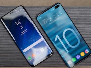 يأتي الرائد Galaxy S10 مع شاشة التوقف الافتراضية