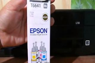 Mengisi Printer Epson
