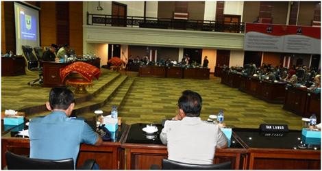 DPRD Provinsi Adakan Perubahan Susunan Dan Struktur Pimpinan